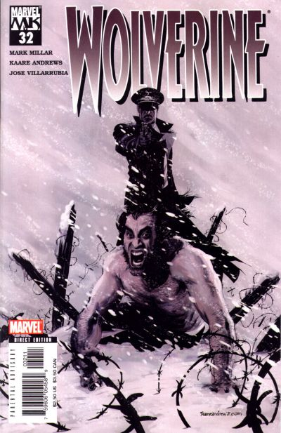 Cover for Wolverine (Marvel, 2003 series) #32 [Newsstand]