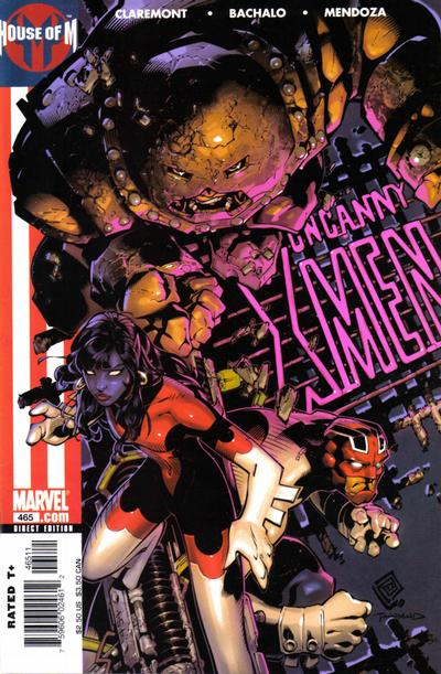 Cover for The Uncanny X-Men (Marvel, 1981 series) #465