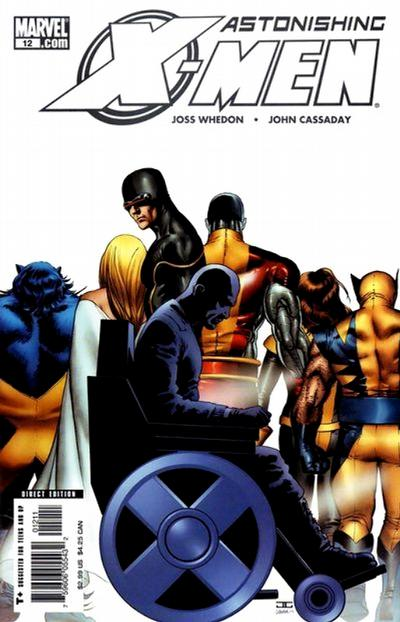 Cover for Astonishing X-Men (Marvel, 2004 series) #12 [Direct Edition]