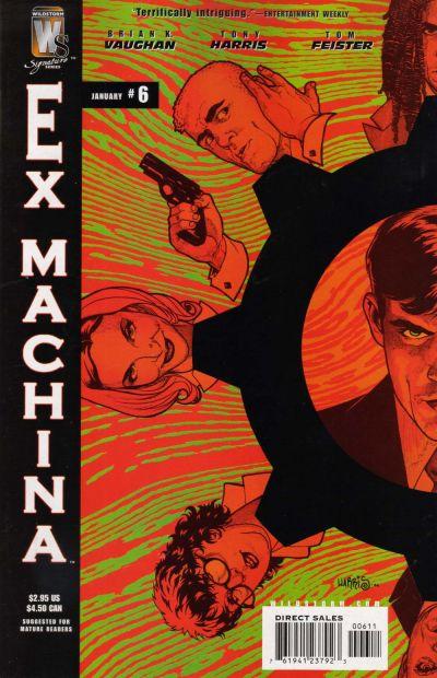 Cover for Ex Machina (DC, 2004 series) #6