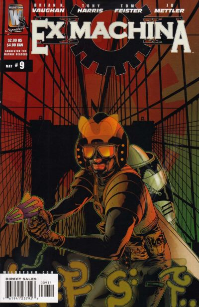 Cover for Ex Machina (DC, 2004 series) #9