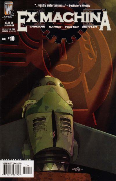 Cover for Ex Machina (DC, 2004 series) #10