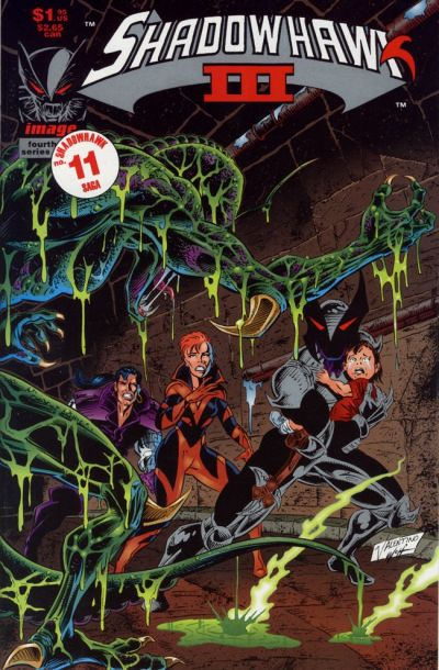 Cover for Shadowhawk Volume Three (Image, 1993 series) #4
