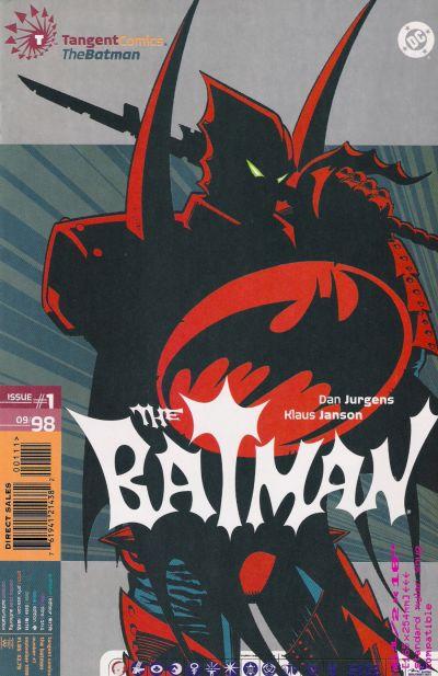 Cover for Tangent Comics / The Batman (DC, 1998 series) #1