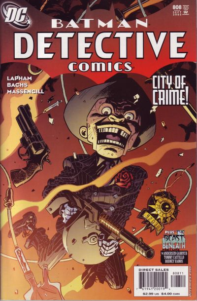 Cover for Detective Comics (DC, 1937 series) #808