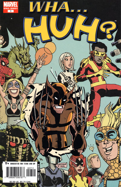 Cover for Wha...Huh? (Marvel, 2005 series) #1