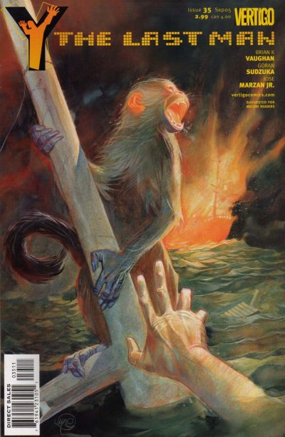 Cover for Y: The Last Man (DC, 2002 series) #35