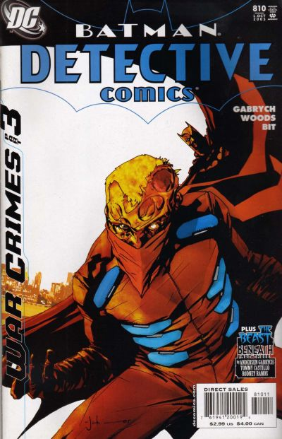 Cover for Detective Comics (DC, 1937 series) #810