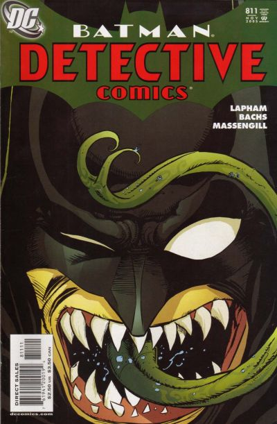 Cover for Detective Comics (DC, 1937 series) #811