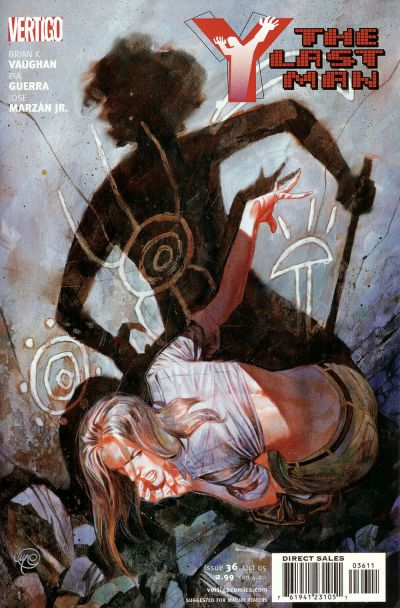 Cover for Y: The Last Man (DC, 2002 series) #36