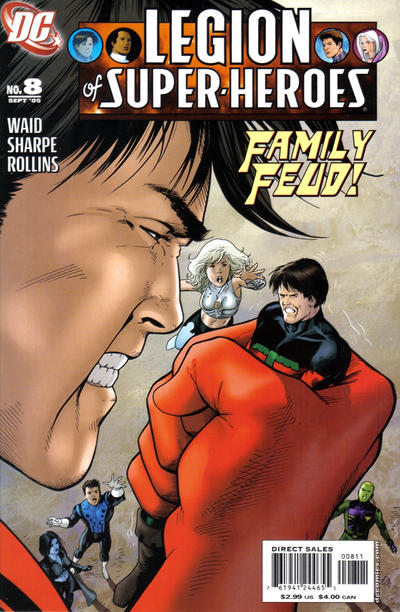 Cover for Legion of Super-Heroes (DC, 2005 series) #8