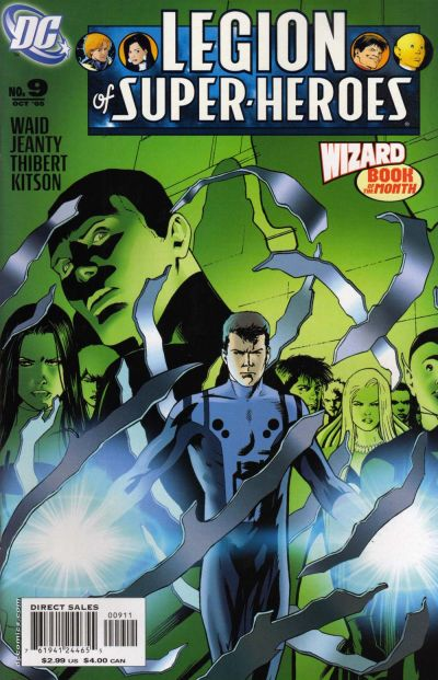Cover for Legion of Super-Heroes (DC, 2005 series) #9