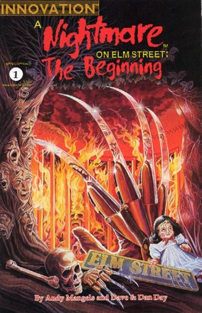Cover for A Nightmare on Elm Street: The Beginning (Innovation, 1992 series) #1