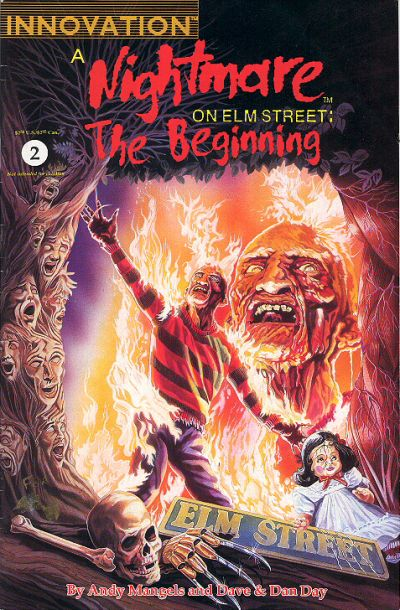 Cover for A Nightmare on Elm Street: The Beginning (Innovation, 1992 series) #2