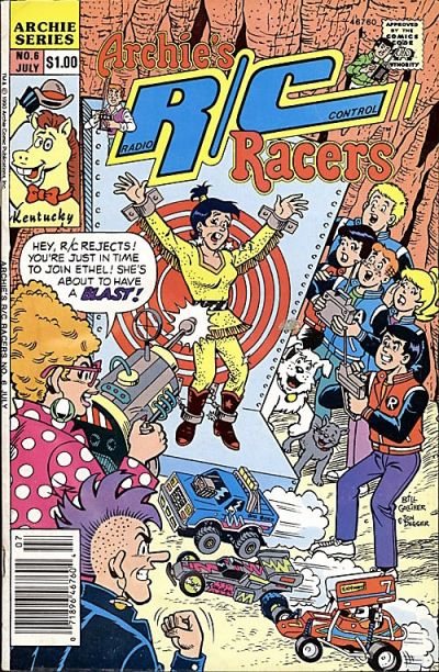 Cover for Archie's R/C Racers (Archie, 1989 series) #6