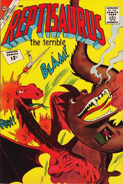 Cover for Reptisaurus (Charlton, 1962 series) #5