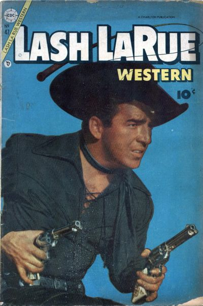 Cover for Lash Larue Western (Charlton, 1954 series) #47
