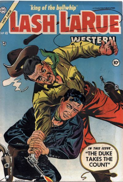 Cover for Lash Larue Western (Charlton, 1954 series) #49