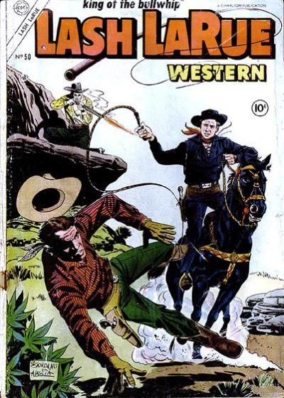 Cover for Lash Larue Western (Charlton, 1954 series) #50