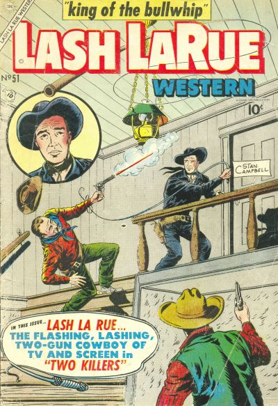 Cover for Lash Larue Western (Charlton, 1954 series) #51