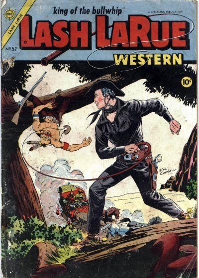 Cover for Lash Larue Western (Charlton, 1954 series) #52