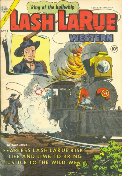 Cover for Lash Larue Western (Charlton, 1954 series) #53