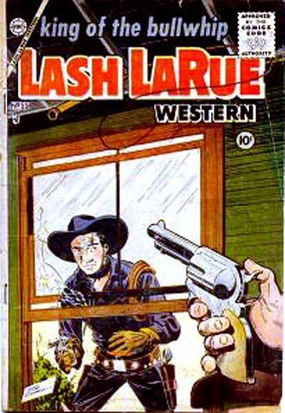 Cover for Lash Larue Western (Charlton, 1954 series) #55