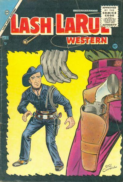 Cover for Lash Larue Western (Charlton, 1954 series) #57
