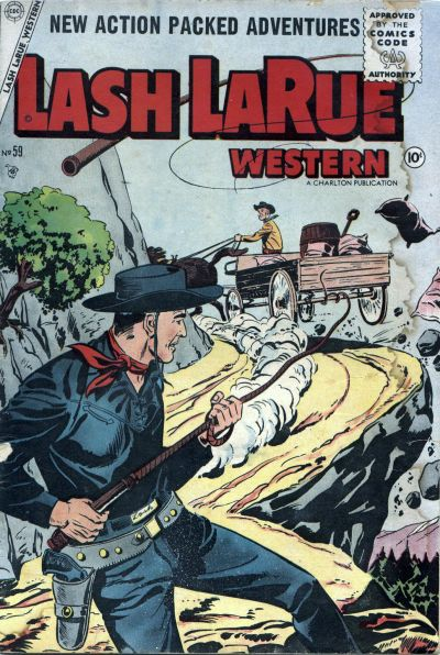 Cover for Lash Larue Western (Charlton, 1954 series) #59