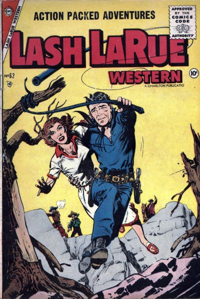 Cover for Lash Larue Western (Charlton, 1954 series) #62
