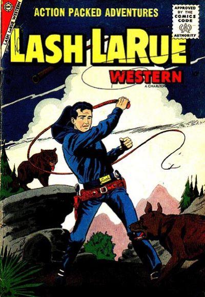Cover for Lash Larue Western (Charlton, 1954 series) #63
