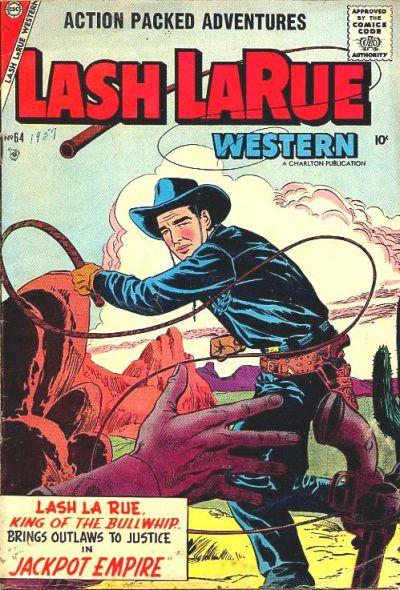 Cover for Lash Larue Western (Charlton, 1954 series) #64