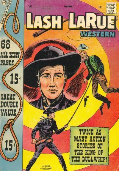 Cover for Lash Larue Western (Charlton, 1954 series) #67