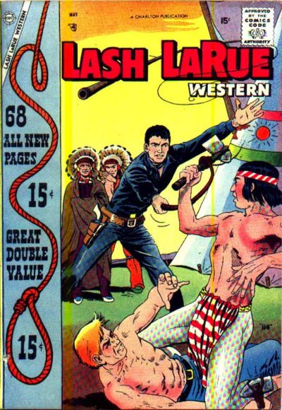 Cover for Lash Larue Western (Charlton, 1954 series) #68