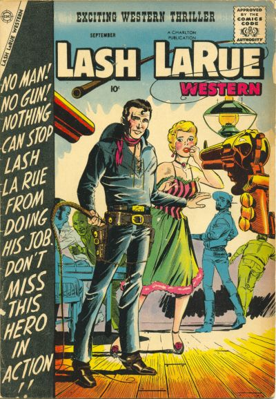 Cover for Lash Larue Western (Charlton, 1954 series) #69