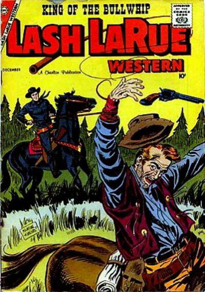 Cover for Lash Larue Western (Charlton, 1954 series) #70