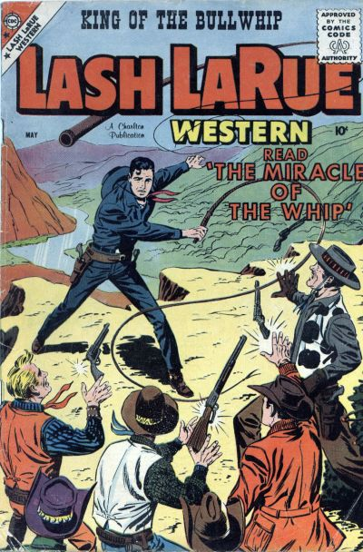 Cover for Lash Larue Western (Charlton, 1954 series) #72