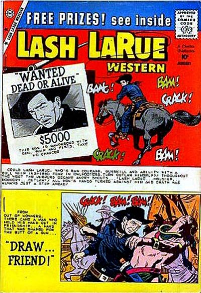 Cover for Lash Larue Western (Charlton, 1954 series) #76