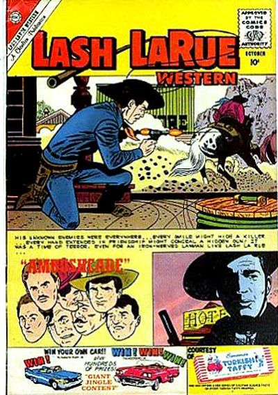 Cover for Lash Larue Western (Charlton, 1954 series) #80