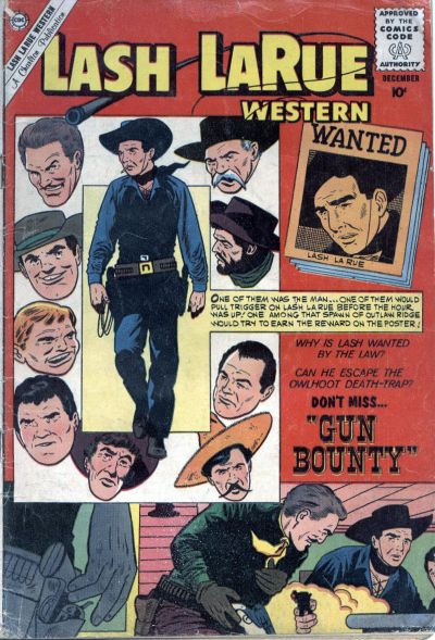 Cover for Lash Larue Western (Charlton, 1954 series) #81