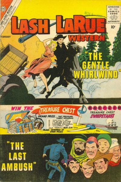 Cover for Lash Larue Western (Charlton, 1954 series) #82