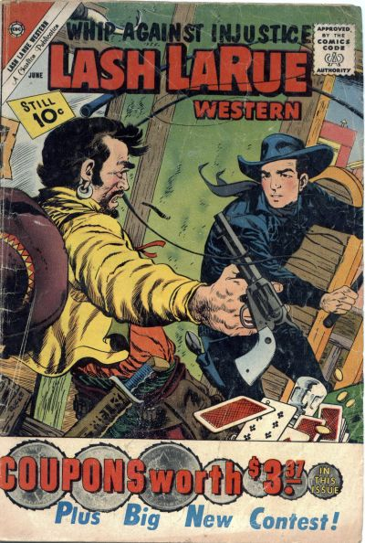 Cover for Lash Larue Western (Charlton, 1954 series) #84