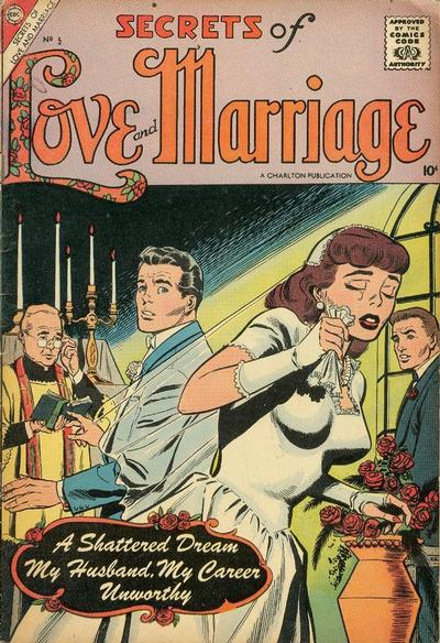 Cover for Secrets of Love and Marriage (Charlton, 1956 series) #5