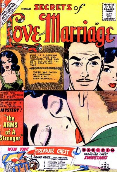Cover for Secrets of Love and Marriage (Charlton, 1956 series) #23