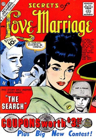 Cover for Secrets of Love and Marriage (Charlton, 1956 series) #24