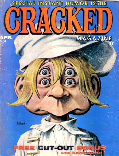 Cover for Cracked (Major Publications, 1958 series) #24