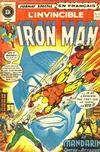 Cover for L'Invincible Iron Man (Editions Héritage, 1972 series) #12