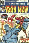 Cover for L'Invincible Iron Man (Editions Héritage, 1972 series) #25