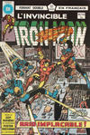 Cover for L'Invincible Iron Man (Editions Héritage, 1972 series) #99/100