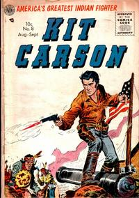 Cover Thumbnail for Kit Carson (Avon, 1950 series) #8
